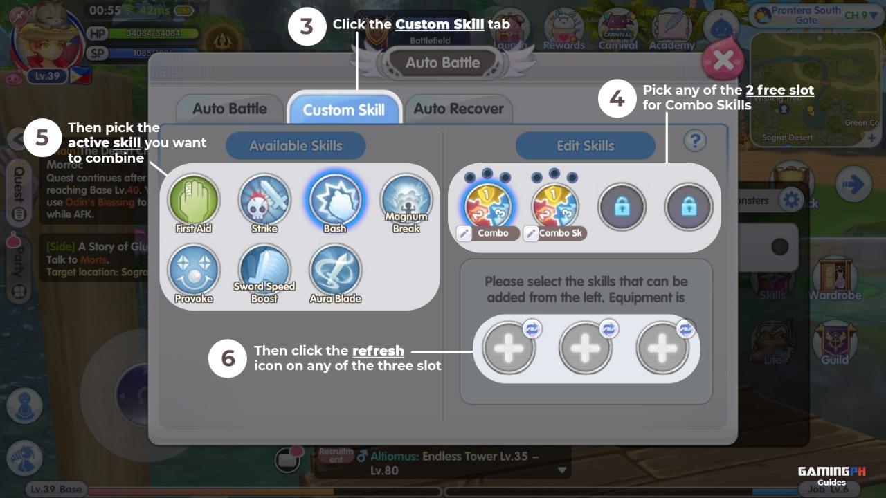 adding-combo-skill-on-ragnarok-x-next-generation-fixed