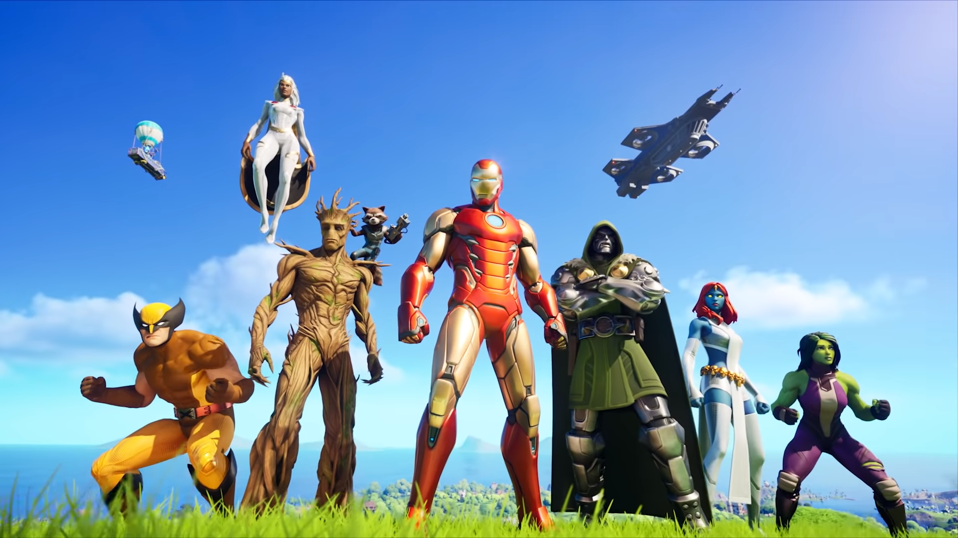 Fortnite Season 4 Chapter 2 : Nexus War เตรียมนำตัวละครจาก MARVEL เข้าสู่ตัวเกมเพียบ! | 4Gamers