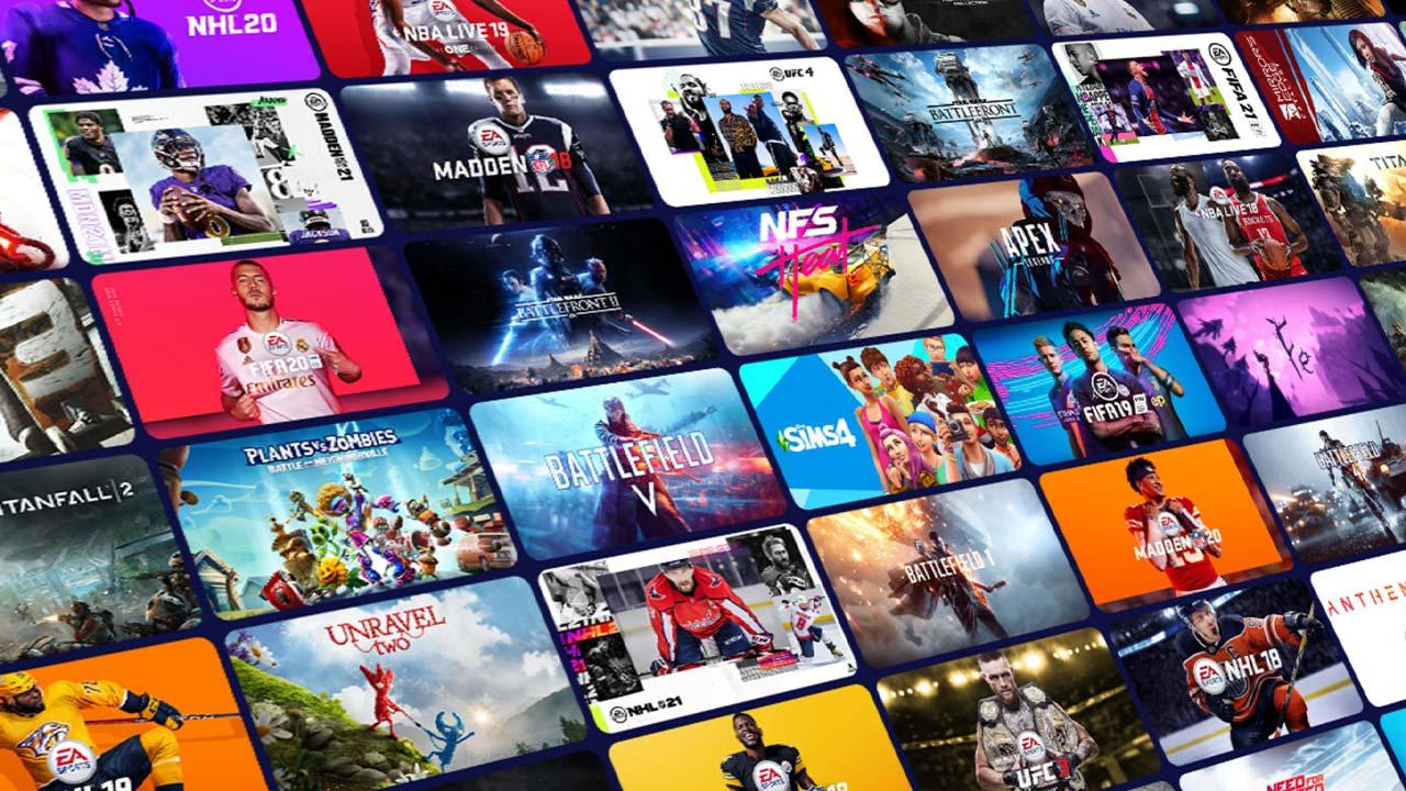 EA Play Game List