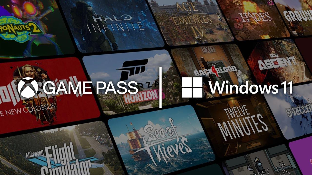 Windows 11 with Gamepass