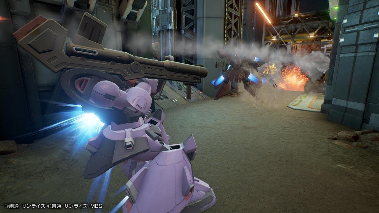 Gundam Evolution Ingame