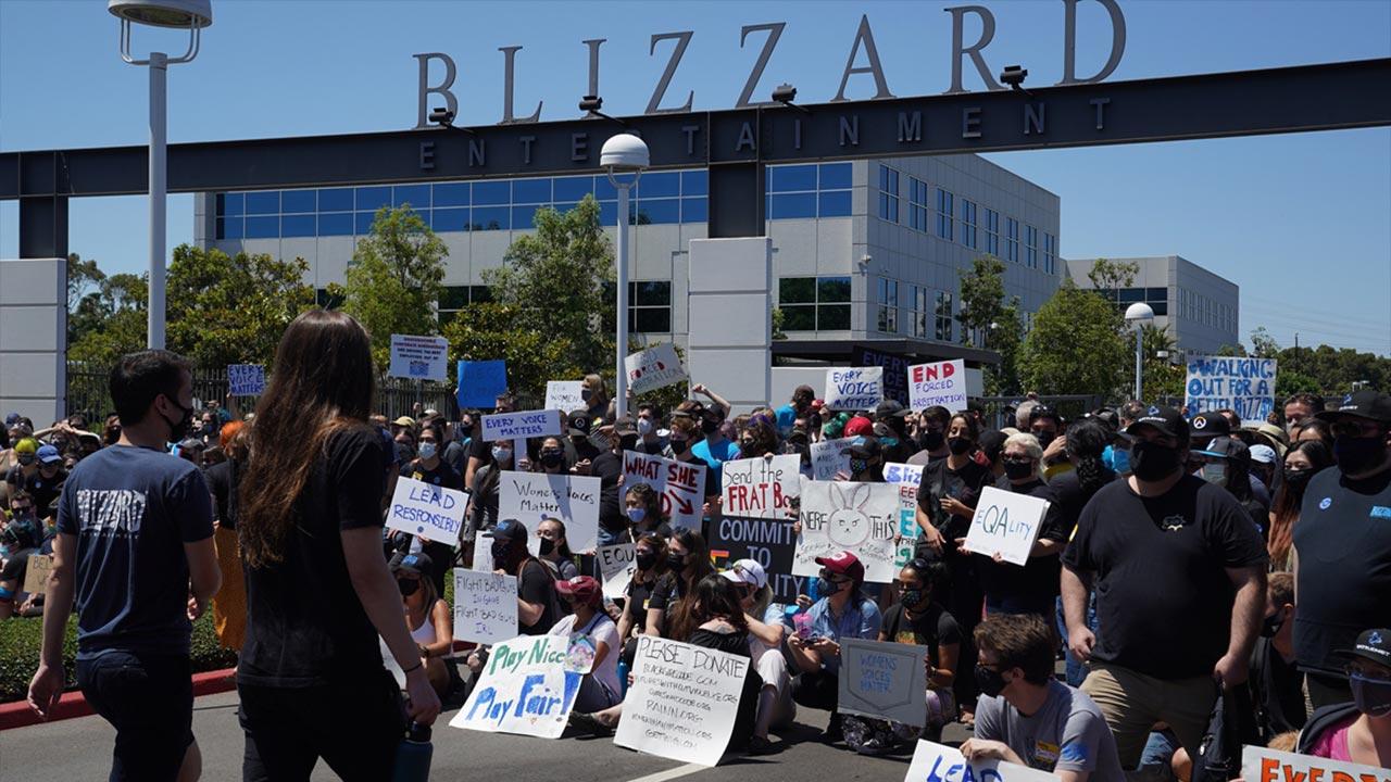 Blizzard Protest
