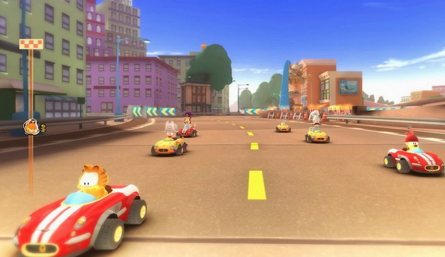 Garfield Kart Furious Racing ไดเวลาพาแมวกาฟลดไปซง - game roblox fanclub