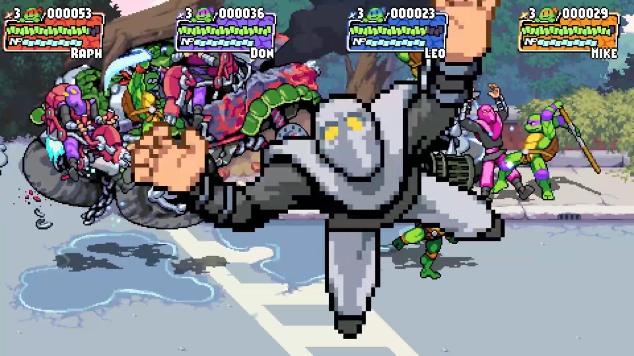 Teenage Mutant Ninja 3