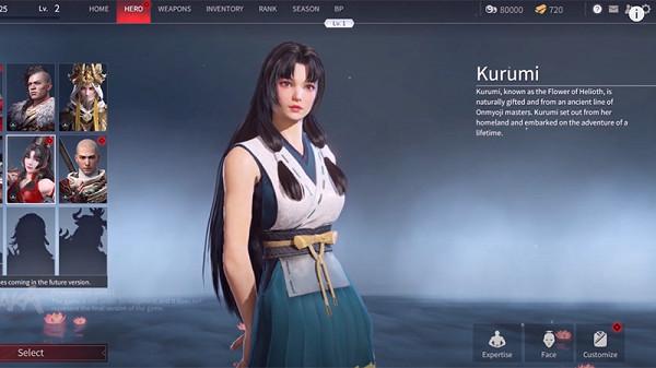Kurumi naraka blade point