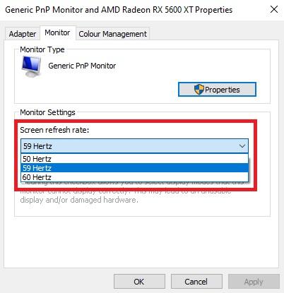 HARDWARE: Cách thay đổi tần số quét màn hình với máy tính sử dụng card AMD   4Gamers