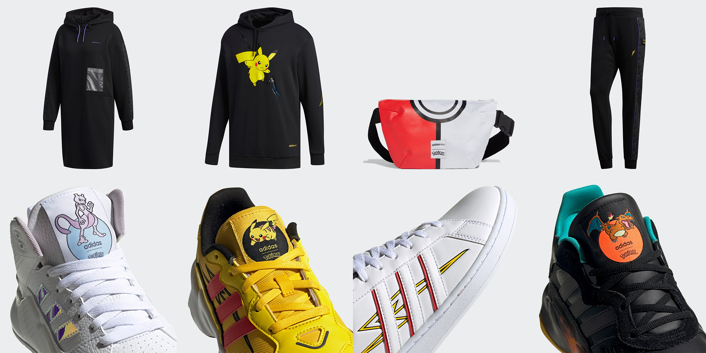 adidas寶可夢聯名鞋包服飾在台開賣,超潮皮