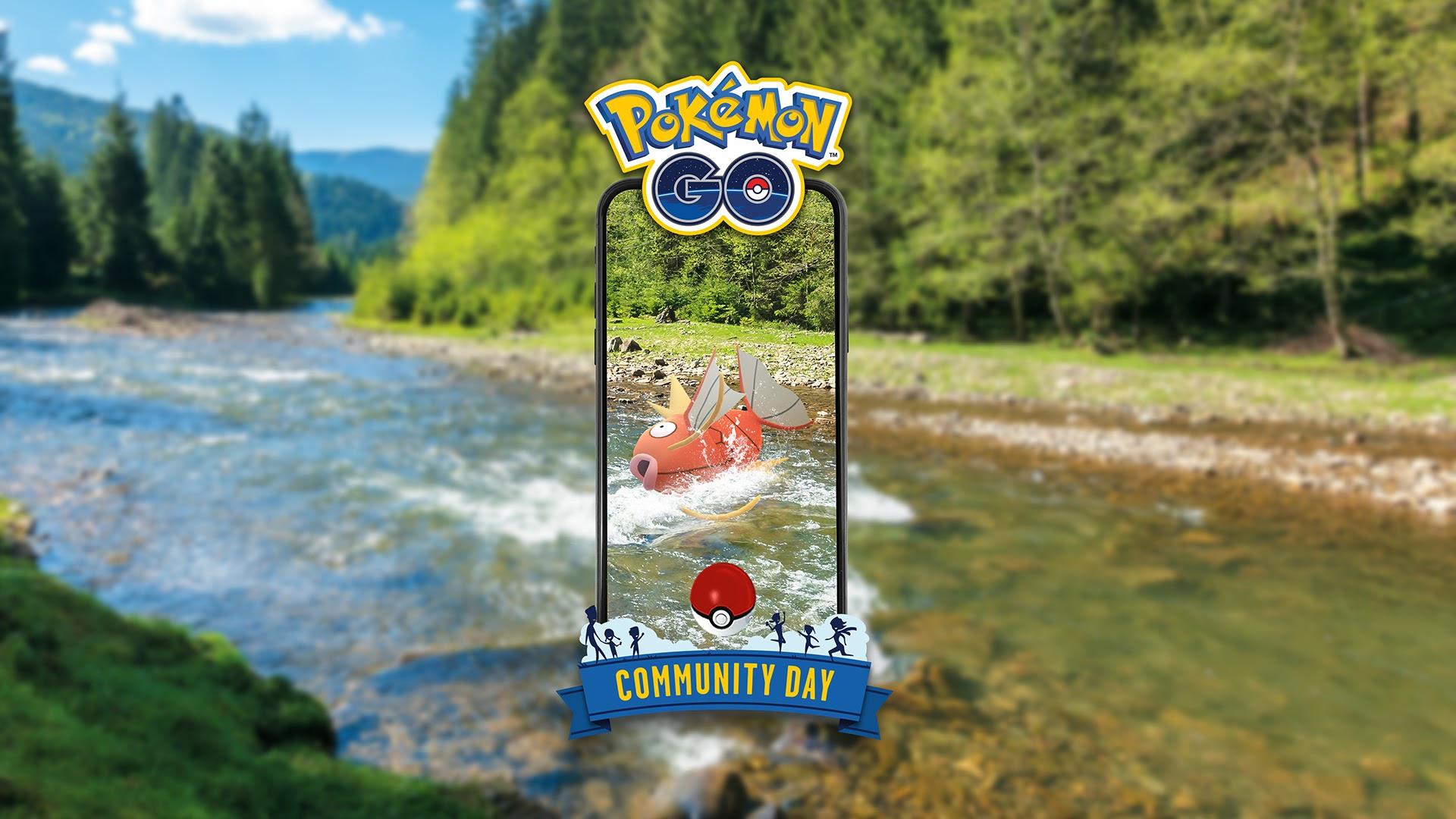 Pokemon Go 鯉魚王社群日 Magikarp Community Day