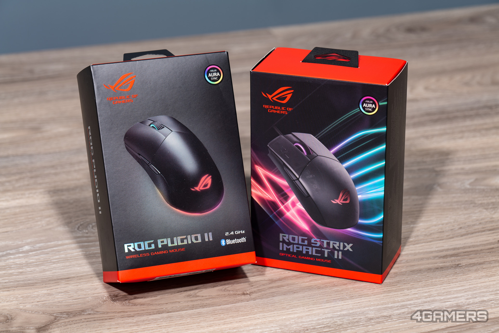 ASUS ROG Pugio II & ROG Strix Impact II