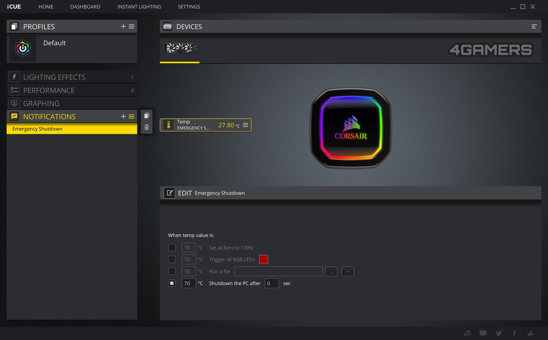 CORSAIR iCUE Software