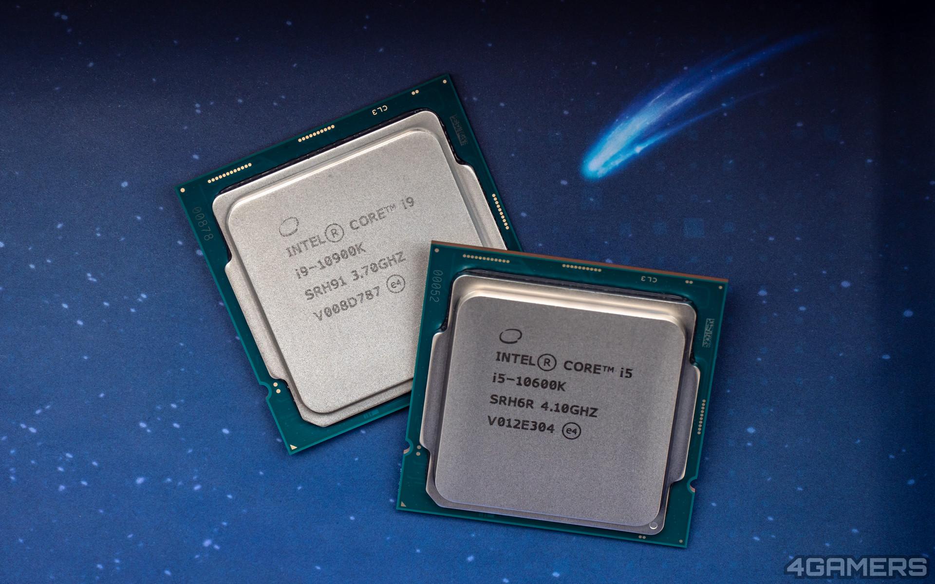 Intel Core i9-10900K & i5-10600K