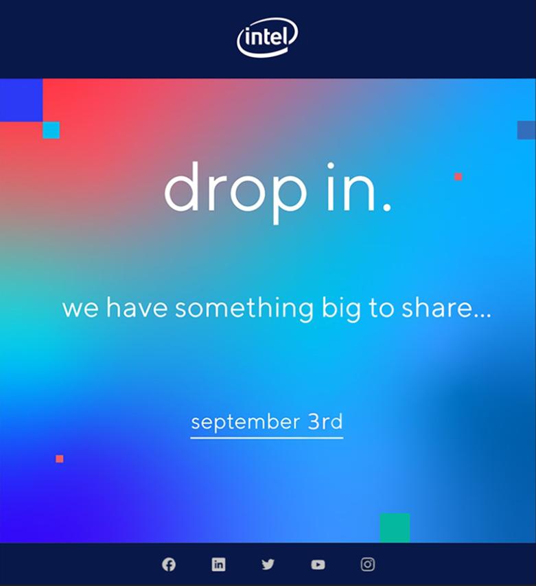 Intel drop in.