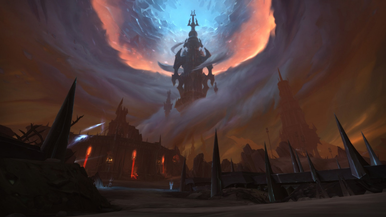 《魔獸世界 暗影之境》環境美術圖