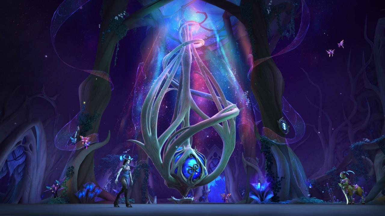 《魔獸世界 暗影之境》誓盟暗夜妖精