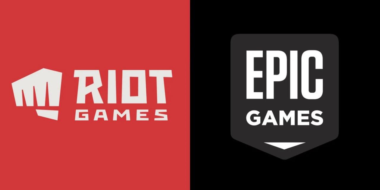 Riot-Games-logo-Epic-Games-logo