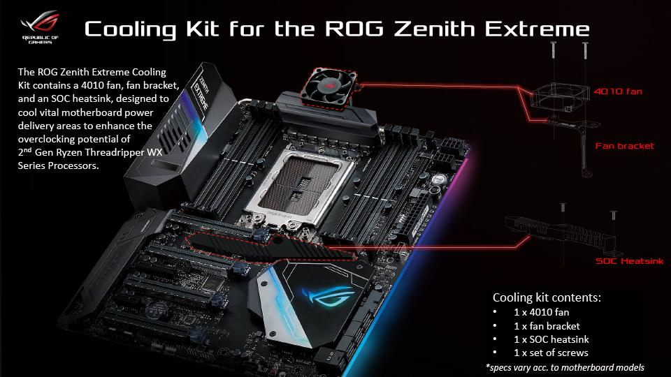 升級2代Ryzen Threadripper處理器免換板,華碩推出X399主機板散熱強化