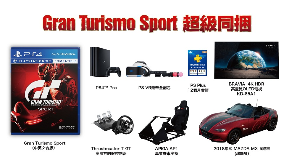 GT Sport Taiwanese Collector's Edition