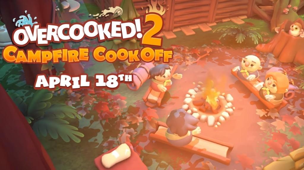 分手廚房《煮過頭2》DLC「野營開伙」4月登場,12道關卡友情新挑戰| 4Gamers