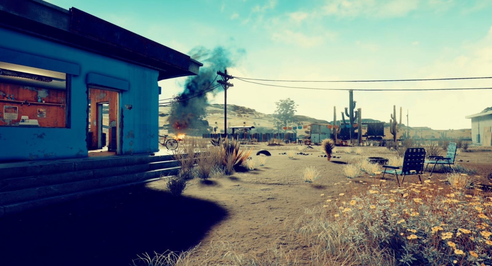 Playerunknown S Battlegrounds Wallpapers: 《絕地求生》新地圖「砂漠」畫面曝光,還原美國西部場景
