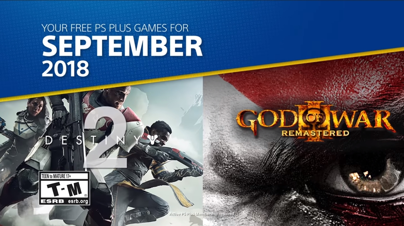 PS Plus September Europe and US version of