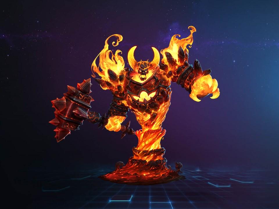 火元素領主登入!《暴雪英霸》新英雄『炎魔』拉格納羅斯上線