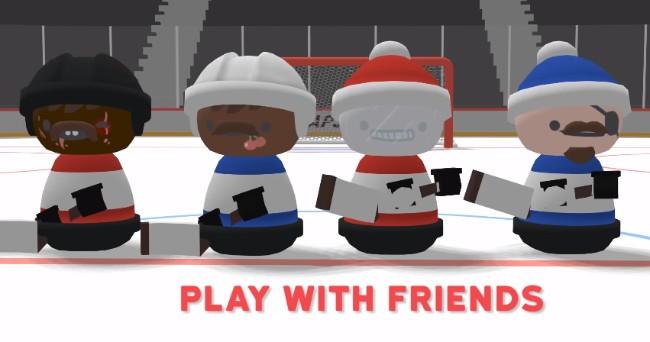 Steam免费:超认真冰球游戏《Slapshot》,用微操定