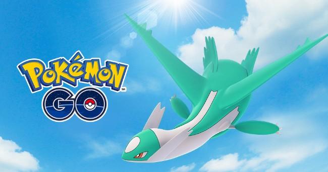 《Pokemon Go》色违水都守卫神「拉帝欧斯」团战迥殊週大方产生