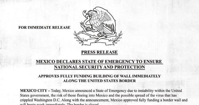 Ubisoft玩很大!《全境封锁2》是墨西哥盖墙不让美国公民进入