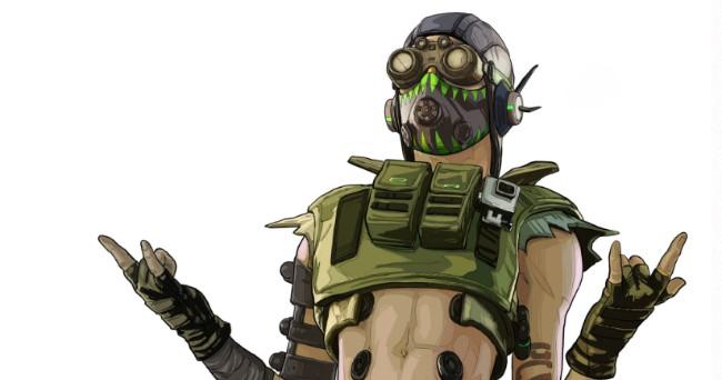 网传《APEX英雄》新英雄「Octane」曝光,被动技可自动回血