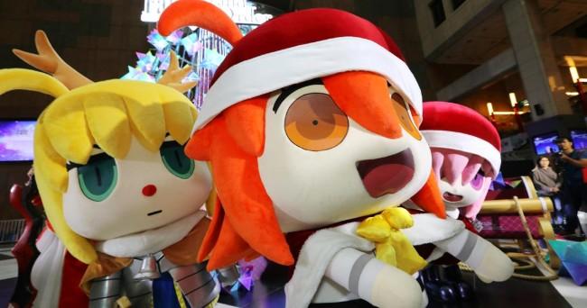 咕哒子坐镇!《FGO》台北车站庆圣诞,许愿留言超魔性