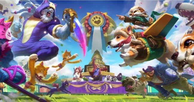 《英雄联盟》愚人节猫狗