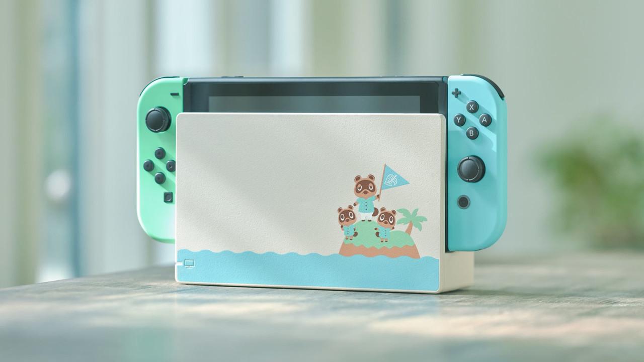 任天堂公開《集合啦!動物森友會》Nintendo Switch同捆機