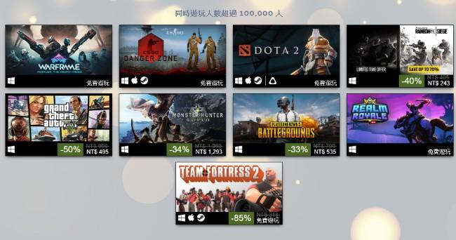 <b>2018 Steam年度畅销《魔物猎人世界》大放异彩,免费《Warframe》稳佔头排</b>