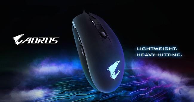 技嘉推出AORUS M2电竞专用轻量滑鼠