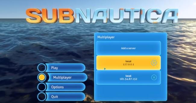 Mod《深海迷航》模改多人连线,让你和朋友一起打利维坦