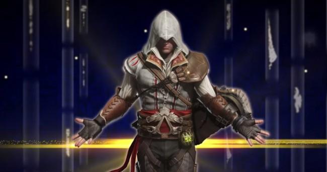 《刺客教条》x《魔物猎人:世界》超跨界狩猎,刺客兜帽变成隐身衣装