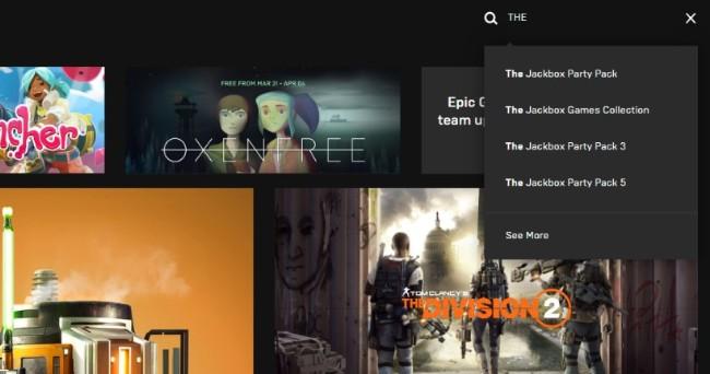 Epic Games商城3个月后推出搜寻功能,设计师幽默反击网友嘲讽