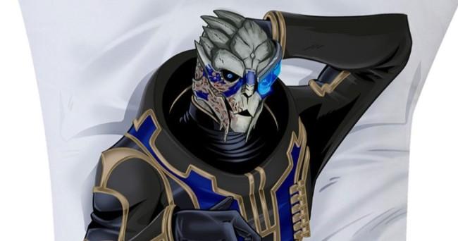 <b>BioWare《质地效应》正理的「Garrus全身抱枕」,必要仗义的你带回家 ❤</b>