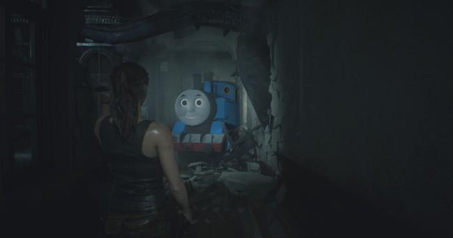 Mod《恶灵古堡2重製版》汤玛士小火车模改现身,