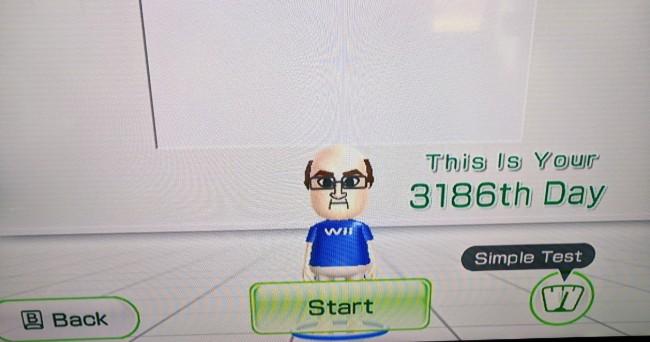 79岁阿公每天早上玩《Wii Fit》健身,持续纪录达3,186天