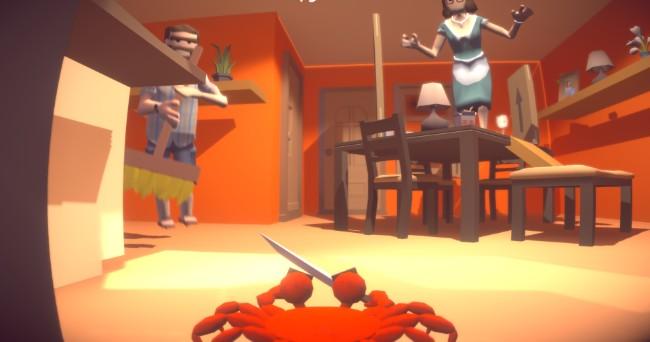 免费小品《Knife 2 Meet U》超派螃蟹闯民宅