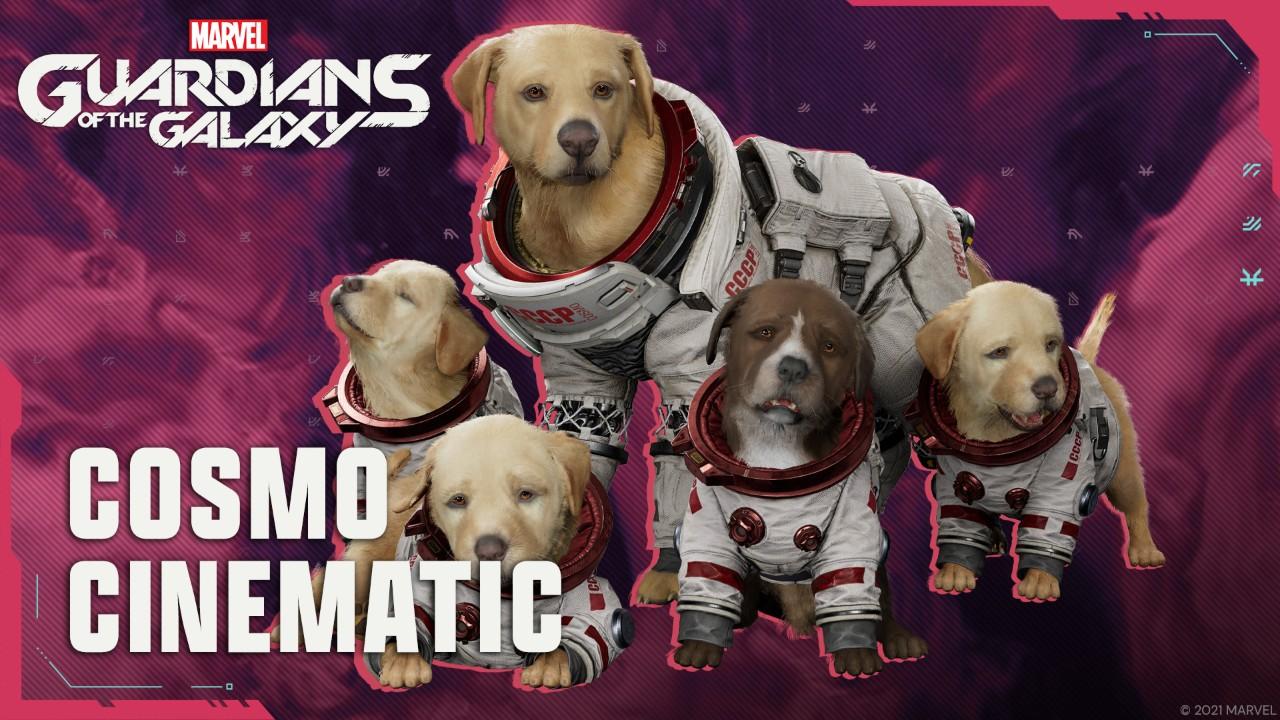 太空狗來啦!《漫威星際異攻隊》科斯莫與狗狗們的劇情影片釋出 thumbnail