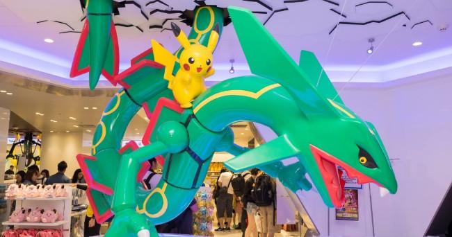 《Pokemon Go》超古代宝可梦镇压者「烈空坐