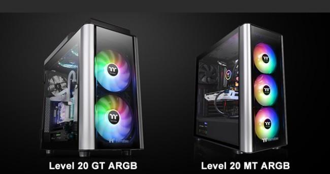 <b>曜越全新Level 20 ARGB强化玻璃机壳上市</b>