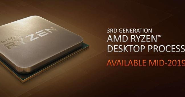 <b>世界首款7nm CPU:第3代Ryzen处理器「Mattise」2019年中上市</b>