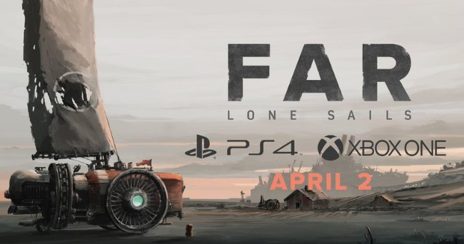 《FAR : Lone Sails》家机版4月初发售,再一起横渡末日海床