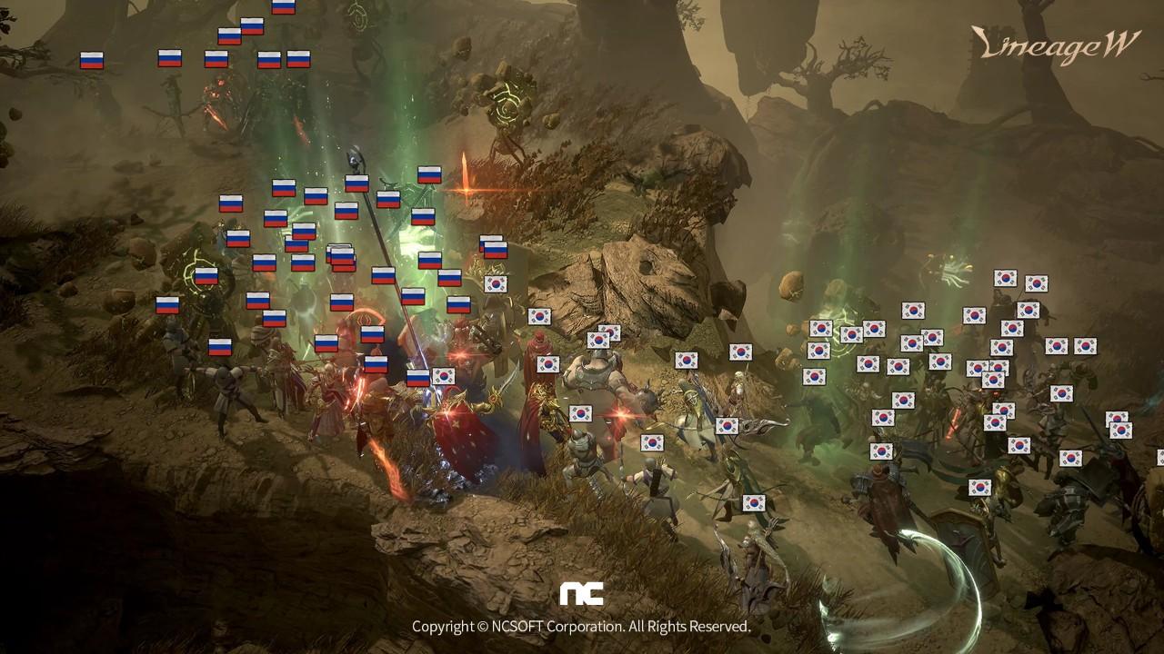 《天堂W》全球戰鬥社群戰場